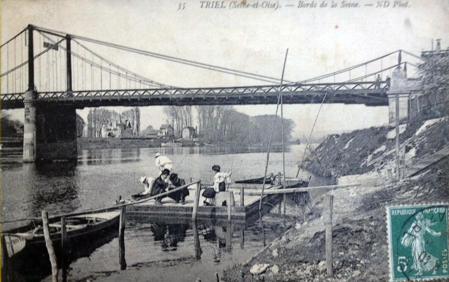 Guy de Maupassant àTriel pendant l'été 1889