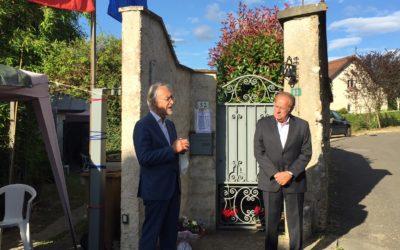 Villennes: le 80e anniversaire de l'appel du 18 juin a été célébré par des candidats à la mairie