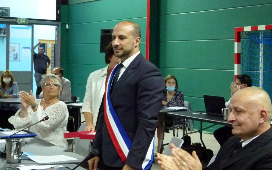 Cédric Aoun est devenu maire de Triel-sur-Seine
