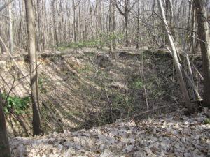 Fontis de la forêt de l'Hautil à Triel-sur-Seine