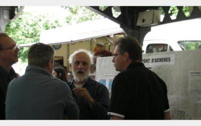 Archives J2R: L'opposition au nouveau pont d'Achères s'organise