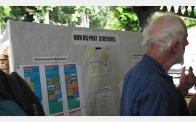 Archives J2R : Eddie Aït : « Non aux projets routiers sur notre territoire!»