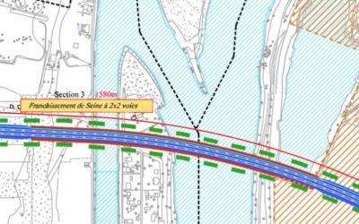 Archives J2R: Transports: Ribault contre le pont d'Achères!