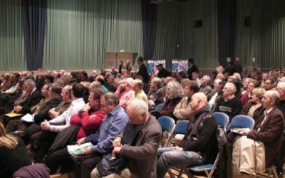 Archives J2R: Les opposants à l'A104 soutenus par les deux députés UMP: Pierre Cardo et David Douillet