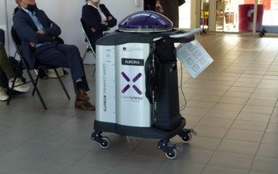 Un robot, tueur du virus «qui nous pourrit la vie»