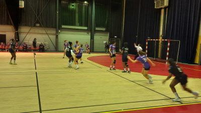 Premier match officiel de N3 et première victoire pour les handballeuses muriautines