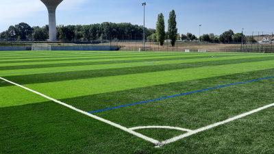 Le nouveau terrain synthétique du Stade Léo-Lagrange est livré