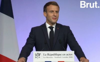 «Je ne céderai rien àceux qui veulent nous diviser» Emmanuel Macron détaille les pistes élaborées dans la lutte contre l'islam radical
