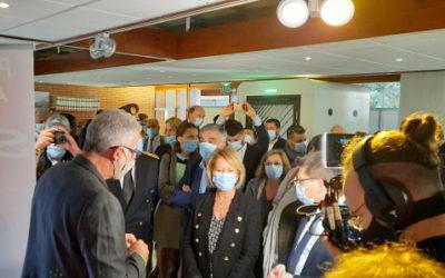 La ministre Brigitte Bourguignon inaugure, àE‑Tonomy, l'Agence interdépartementale de l'autonomie