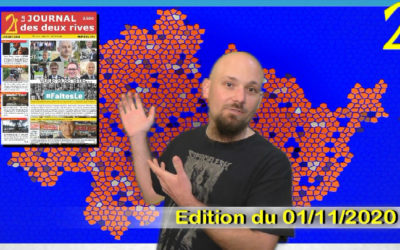 Notre revue vidéo de novembre (GPS&O, RD154, Covid-19, Samuel Paty…)