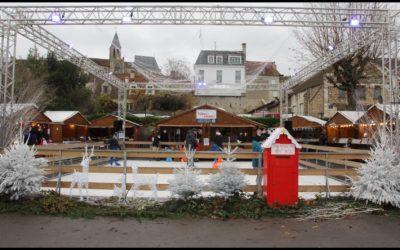 Renaissance de la convivialité à Triel: marché de Noël 1, Covid0!