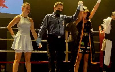 La boxeuse Rima Ayadi, grande favorite, est devenue championne de France