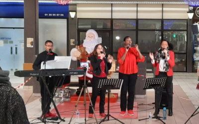 Un petit concert de gospel pour les Muriautins