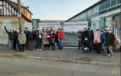 Des habitants se mobilisent contre le béton àConflans