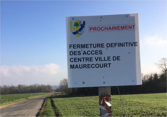 Bien Vivre àl'Hautil demande la réouverture de la C4 vers Maurecourt