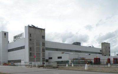 Le ministre Marc Fesneau avisité l'usine de Renault Flins, àl'occasion du lancement de son projet Re-Factory
