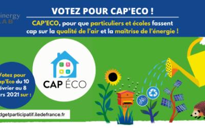 Un projet du Seinergy Lab présélectionné pour le budget participatif écologique et solidaire de l'Île-de-France