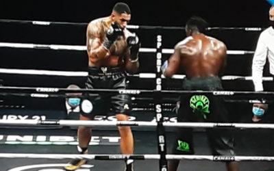 Enfin un titre de boxe professionnel et européen pour TonyYoka