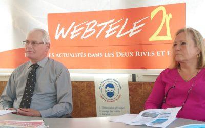Zoom 2R: Jean-Luc Gallais et Denise Heuze, deux candidats RN dans le canton de Verneuil pour contrer les sortants