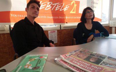 """Zoom 2R : Raphaël Prats et Annie Minarik de la liste """"On passe au vert"""" dans le canton de Conflans"""