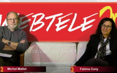 Zoom 2R: Fatima Cuny et Michel Mallet, candidats de la gauche écologique et solidaire dans le canton des Mureaux