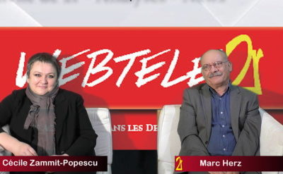 Zoom 2R: Cécile Zammit-Popescu et Marc Herz, candidats d'Ensemble Pour les Yvelines dans le canton des Mureaux