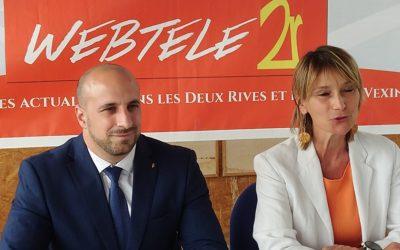 """Zoom 2R : Cédric Aoun et Marie-Hélène Lopez-Jollivet, candidats SE """"Rassemblés pour le canton de Verneuil-sur-Seine"""""""