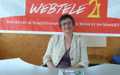 Zoom 2R : Mme Senée, candidate yvelinoise aux élections régionales