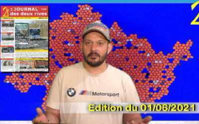 Journal des 2r : 1/6/2021 (GPS&O, RD154, environnement, aviron, élections, Frédéric Dard,PTCE…)