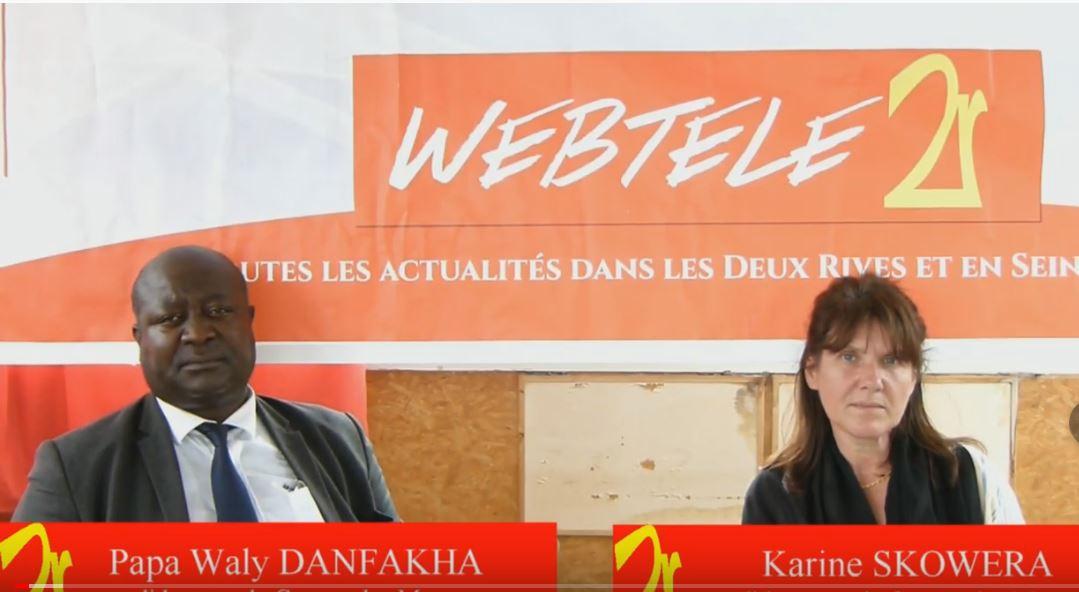 """Zoom 2R : Papa Waly Danfakha et Karine Skowera, candidats pour un canton """"inventif"""""""