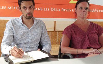 Zoom 2R : Boris Venon et Gwénaëlle Guillo, candidats dans le canton des Mureaux