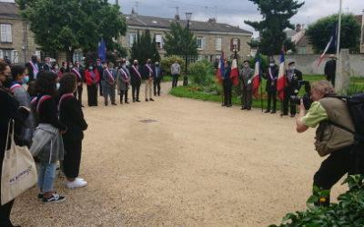 Les Mureaux: cérémonie plus courte mais engagée