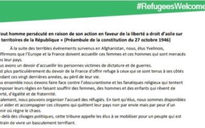 30 élus des Yvelines appellent à la mobilisation pour les Afghans