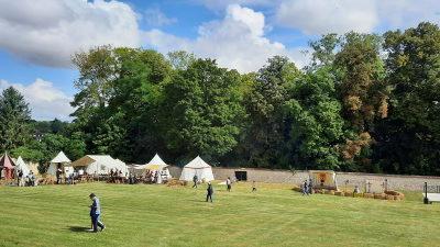 Hardricourt au Moyen-Âge, dans le parc du château, du 28 au 29 août2021