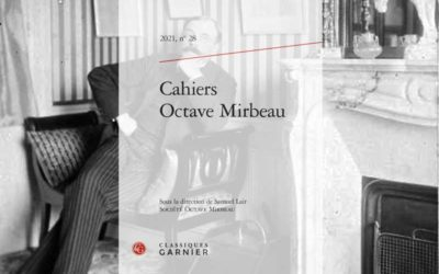 Parution du numéro 28 des Cahiers Octave Mirbeau