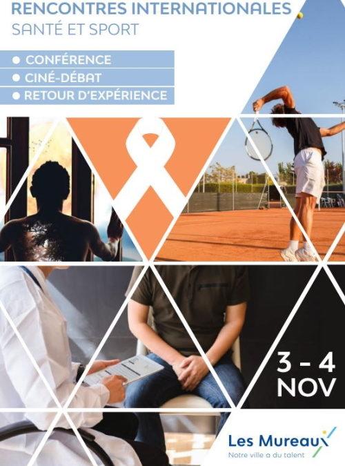 Rencontres internationales Santé et Sport aux Mureaux, début novembre